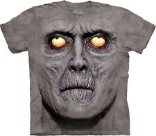 Zombie Portrait Dark Fantasy T Shirt Adult Unisex Mountain