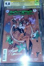 Harley Quinn 25th Anniversary Spec. 1 Dodson Var CGC SS 9.8 signed by 6 creators