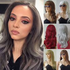 Fashion Party Wave Long Curly Wig Full Hair Cosplay Costume Wigs For Women Rt5