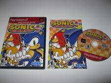 Retro SEGA Genesis Game Gear *SONIC MEGA COLLECTION PLUS* for Playstation 2 PS2