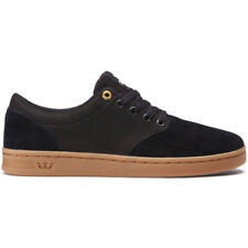 Supra Chino Court Mens Footwear Shoe - Black Gum All Sizes
