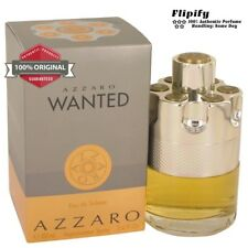 Azzaro Wanted Cologne by Azzaro EDT Spray for Men 3.3 3.4 oz 100 ML NEW