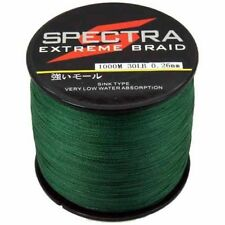 Moss Green Braided Line Spectra PE Fishing Line Super Dyneema 4Strands Line1000M