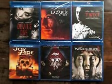 Horror Blu-ray Lot New Free Ship Devils Due + Twixt + Joy Ride 3 + Woman in Blac