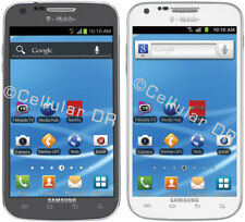 Samsung Galaxy S2 II SGH-T989 Smartphone (T-Mobile) Black/Gray White Cell Phone