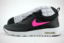 Nike Air Max Thea (GS) 814444-001 Black Textile Synthetic Running Shoes Youth