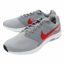 NIKE 852459-013 : Mens Downshifter 7 Wolf Grey Red Stealth Running Shoes