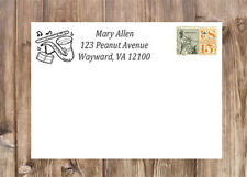 Personalized Musical Instruments Self-Inking Laser Rubber Return Address Stamp