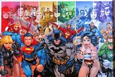 Justice League America - Generations- Poster-Laminated Available-90cm x 60cm-...