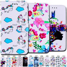 Flip Stand Wallet Holder Magnetic PU Leather Card Case Cover For Apple iPhone