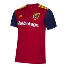 Youth Real Salt Lake Soccer Jersey Adidas Home Replica Jersey