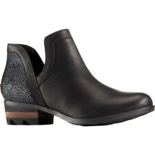 Sorel Lolla Cut Out Womens Boots - Black All Sizes