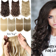 100% Real Natural Secret Wire Hair Extensions Thick Invisible As Human Hair PH7
