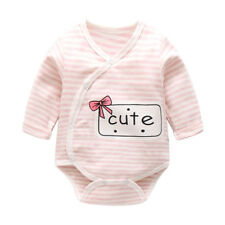 100% Organic Cotton Baby Girl Rompers Clothes Long Sleeve Girls Outfits