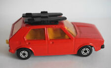 Red VW Golf #7 Red with Surfboards Matchbox Superfast  1976
