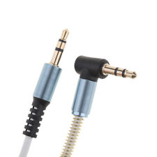 3.5mm M to M Aux Cable Cord L-Shaped Right Angle Audio Headphone Jack