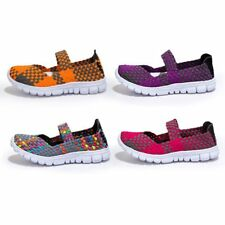Women Fashion Knited Soft Sports Slippers Sandals Skechers Shoes Sneakers