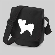Papillon Dog Bag for Dog Walker Reporter Shoulder Bags Birthday Gift