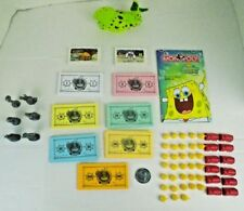 Spongebob Squarepants Monopoly Game 2005 Replacement Parts Pick What You Need