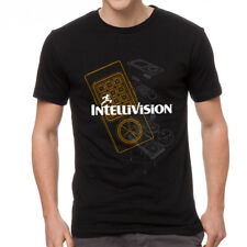 Intellivision Controller Men's Black T-shirt NEW Sizes S-2XL