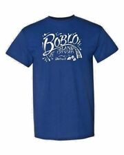 Boblo Island T-Shirt hand drawn art
