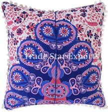 Indian Mandala Square Pillow Case Decorative Cotton Sofa Throw Cushion Cover Set