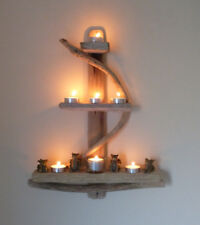 Unique Driftwood Anchor Shelves, Solid, Rustic, Shabby Chic, Nautical