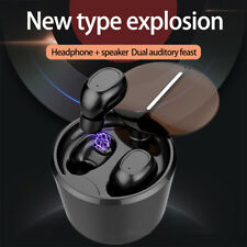 Ture Wireless Bluetooth Headphone Mini TWS Earphone Stereo Bass Headset Speaker