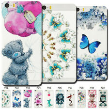 Soft Case Cover Fashion Shockproof Clear Back Painted TPU Slim Skin For Apple