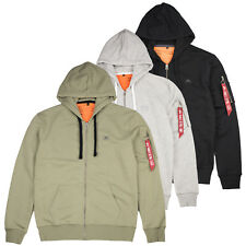 Alpha Industries Zip Hoody X-Fit / Hoodie / S M L XL XXL / New