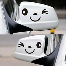 2X Smile Face Design 3D Decal Decor Car Sticker Side Mirror Rearview HOT W