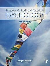 Research Methods and Statistics in Psychology by Hugh Coolican (Paperback, 2014)