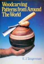 Woodcarving Patterns from Around the World, Tangerman, E.J., Used; Good Book