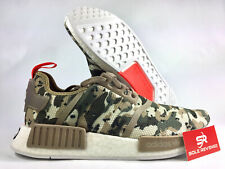 NEW adidas Originals NMD R1 BOOST G27915 CAMO Clear Brown/Solar Red MEN'S c1