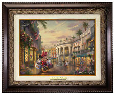 Thomas Kinkade Studios Minnie Rodeo Drive 9x12 Canvas Classic (Choice of Frame)