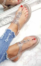 IKRUSH Womens Amerie Diamante Embellished Sandals