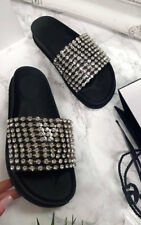 IKRUSH Womens Leah Embellished Sliders