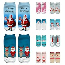 Unisex Christmas Sokken Funny 3D Fashion Printed Casual Socks Cute Low Cut Ankle