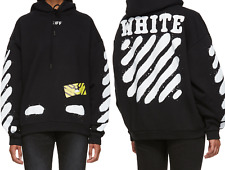 OFF-White spray painted hoodie black sweatshirt for men women LIMITED EDITION