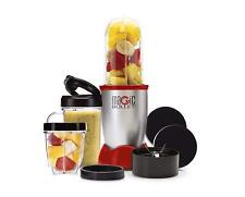 Magic Bullet Blender Small Silver 11 Piece Set New in Sealed Box