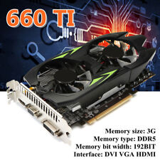 GTX660TI 3GB GDDR5 192bit VGA DVI HDMI Graphics Card Fan For NVIDIA GeForce 2019