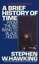 A Brief History of Time: From the Big Bang to Black Holes by Stephen Hawking...