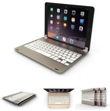 For iPad 2017 2018 9.7 inch 2018 Aluminum Bluetooth Keyboard Case Cover  9.7 New