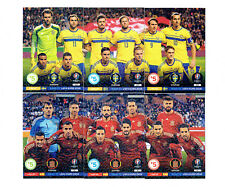 2016 Panini Adrenalyn XL Road to UEFA Euro FRANCE * Line-Up *