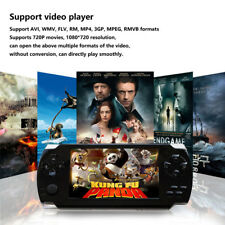 """Portable 4.3"""" Video Handheld Game Console Player + 1000 Games 32Bit 8GB Built-In"""