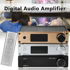 SMSL Q5 Pro LED Digital Audio Amplifier 2 CH Coaxial HiFi Stereo AUX Amp+RC Gift