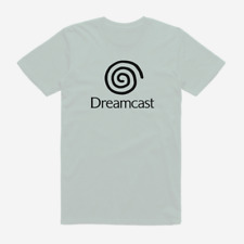 SEGA DREAMCAST T Shirt Retro Console Gaming Game Computer White S M L XL XXL