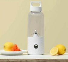 Portable Fruit Juicer Bottle Blender USB Rechargeable Detachable Smoothie Maker