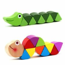 Children Educational Wooden Toys Early Learning Exercise Baby Fingers Flexible
