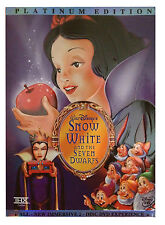 Snow White and the Seven Dwarfs DVD 2-Disc Platinum Edition BRAND NEW